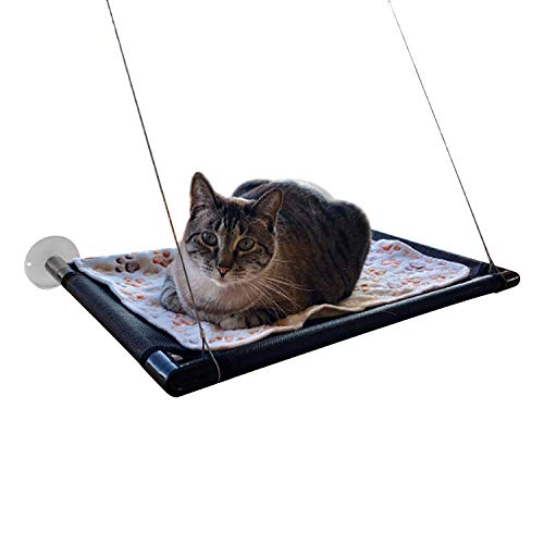 Gato ventana percha hamaca cama gato-soleado asiento
