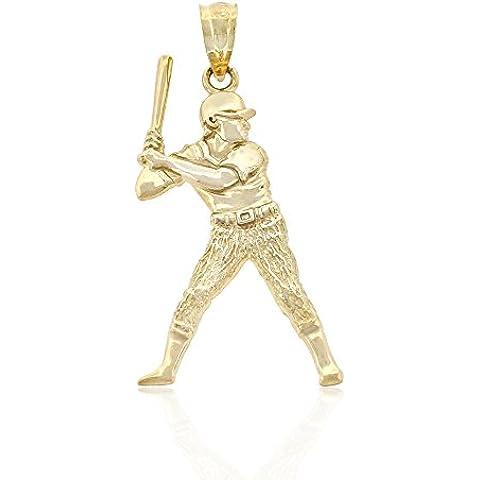 Oro Jugador de béisbol encanto, 10K