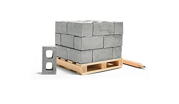 Buy Mini Materials Miniature Cinder Blocks With Pallet, 24