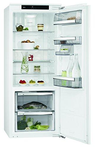 AEG SKE81426ZC Kühlschrank/153 l Kühlschrank ohne Gefrierfach/59 l 0 °C-Kaltraum/getrennte Luftzirkulation & selbstschließende Tür/Einbaukühlschrank (A++)/Höhe: 140 cm/weiß
