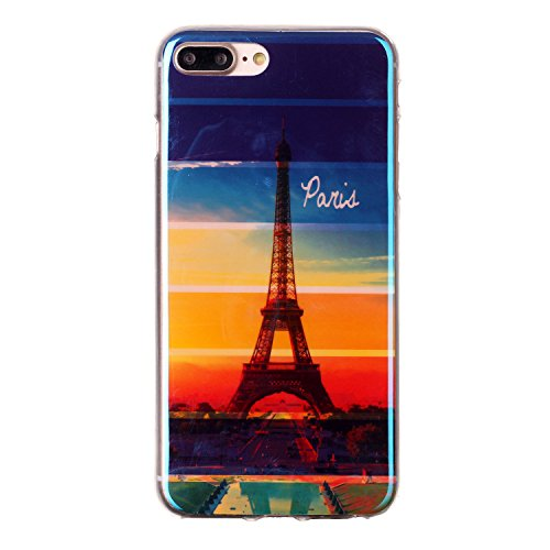 "MOONCASE [Anti-dérapante] TPU Silicone Housse Coque Etui Gel Case Cover Pour iPhone 7 Plus 5.5"" YH01 YH - 04"