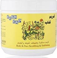 KREM CAP Body and Face Scrubbing and Exfoliating Cream, 500 ml , 6102540