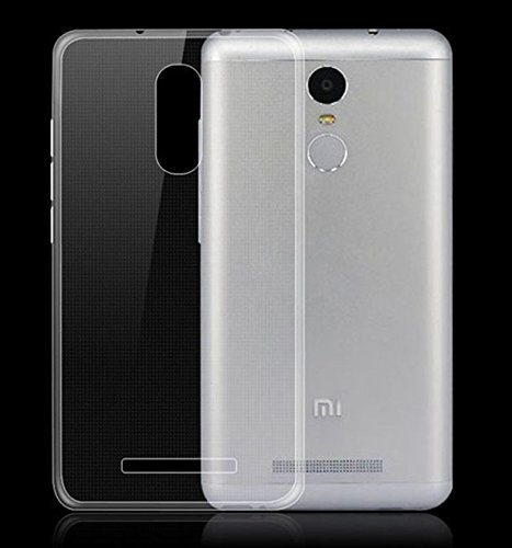 M.G.R Xiaomi Redmi Note 3 Crystal Clear [ Anti-slip ] Shockproof [ Hybrid ] Transparent [ Flexible ] Back Protector Cover  available at amazon for Rs.99