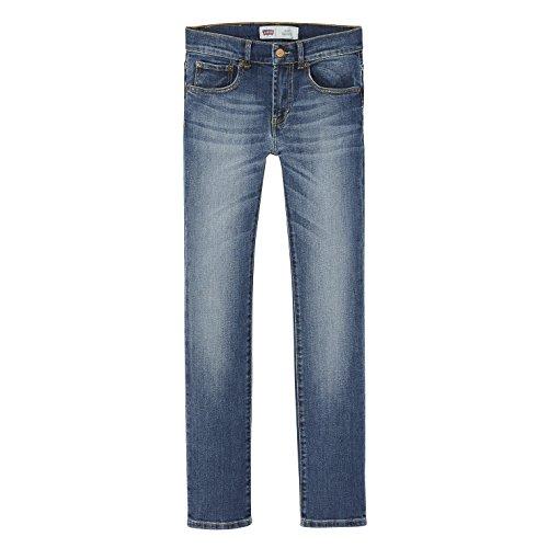 Levi's Kids Jungen Jeans Pant 510, Blau (Denim 46), 152 (Herstellergröße: 12A) (Levis Premium-denim)