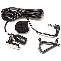 Freeauto Mic 3.5mm Micrófono Ensamble Externo Para Vehículo Unidad Principal Del Coche Bluetooth Habilitado Audio Estéreo Radio GPS DVD