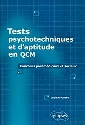 Tests psychotechniques : Tests d'aptitude en QCM