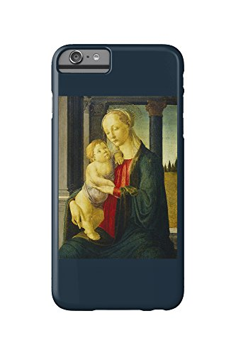 Madonna and Child - Masterpiece Classic - Artist: Sandro Botticelli c. 1470 (iPhone 6 Plus Cell Phone Case, Slim Barely There) (Botticelli Madonna)