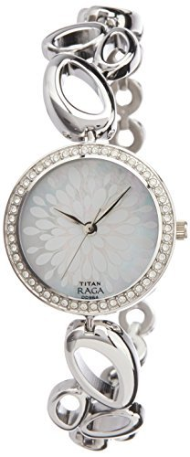 Titan Raga Analog Mother of Pearl Dial Women's Watch- 2539SM02
