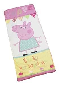 Character World Peppa Pig Cupcake Sleeping Bag