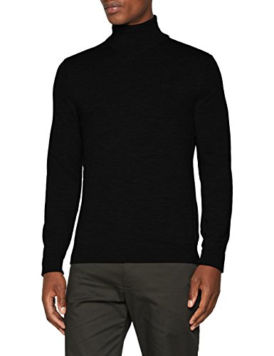 Armani Exchange Herren 8NZM3C Rollkragenpullover, Schwarz (Black 1200), One Size (Herstellergröße: M)