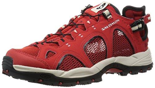 Salomon Techamphibian 3, Sandales de Randonnée Homme red