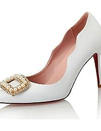 ggx de zapatos de mujer Cuero Sintético Tacón estilos talones boda fiesta 15f1f1302d01