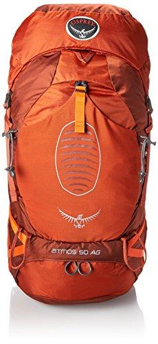 Osprey Atmos AG 50 L Mochila de viaje rojo