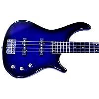 Benson GRS (GRS) Midnight Blueburst electric bass guitar package