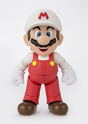 Bandai-Tamashii-Nations-SHFiguarts-Fire-Mario-Super-Mario-Action-Figure