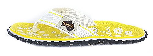 Gumbies Islanders Adulto Sandali Infradito Calzature Da Spiaggia Numero eu 36 - 12 UK Daisy