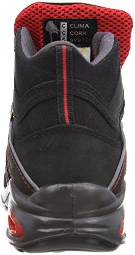 Lavoro Mission, Chaussures de sécurité homme Noir - noir/rouge