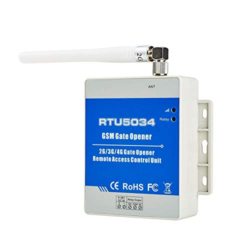 JUNERAIN GSM Gate Opener Hausalarm-Sicherheitssystem Automatischer Türöffner RTU5034 Security Garage Door Opener