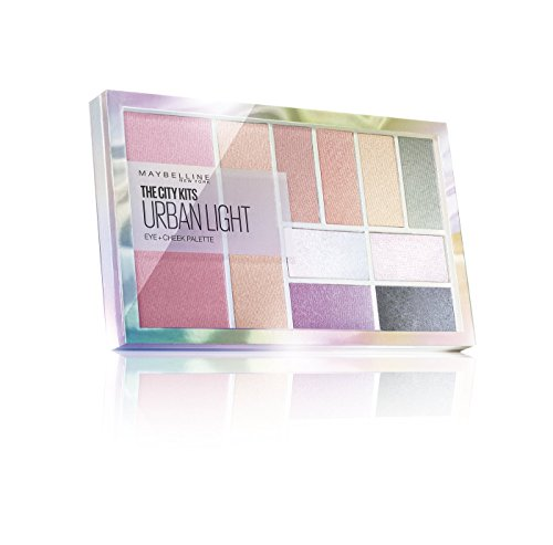 Maybelline City Kits Urban Light Paleta de sombras