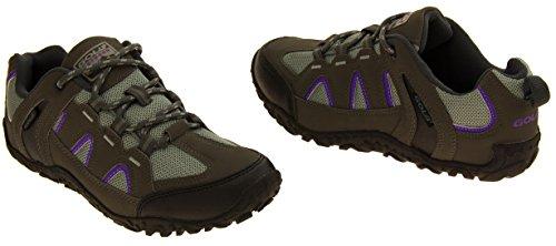 Donne Gola robusta Escursionismo, Camminare, scarpe da trekking Grigio