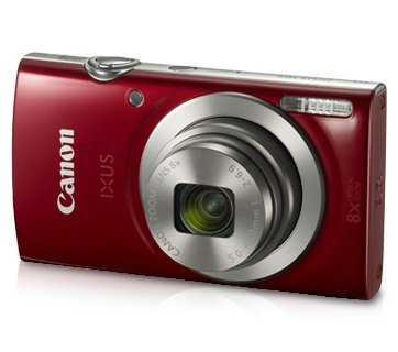 Canon IXUS 185 20MP Digital Camera with 8x Optical Zoom...