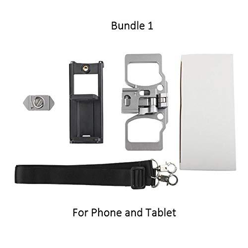 Preisvergleich Produktbild HoganeyVan Drone Controller Metallhalterung Crystalsky Bracket Kit Für DJI Mavic 2 Pro Zoom Fernbedienung Telefon Tablet Monitor Clip Clamp