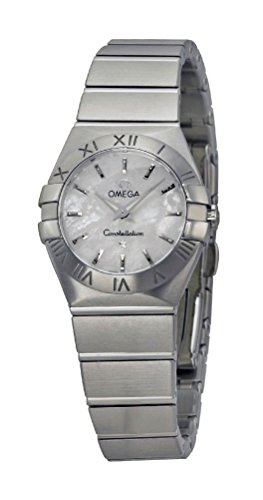 Omega Constellation Stainless Steel Quartz Womens Watch Mother-of-Pearl...