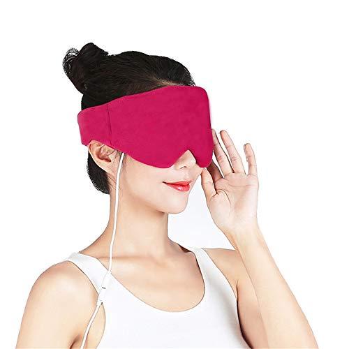 QHGao USB-Dampfaugenmaske, Lindert Den Augendruck, Behandelt Trockenes Auge, Augenringe, Anti-Müdigkeit, Super Glatte, Kalte Und Heiße Augenmaske Mit Zeit- Und Temperaturregelung - Anti-müdigkeit Feuchtigkeitscreme