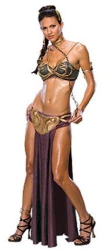 omen's Secret Wishes Princess Leia Slave Costume, Multicolor, S (6/9) - S by Rubie�´s (Slave Princess Leia)