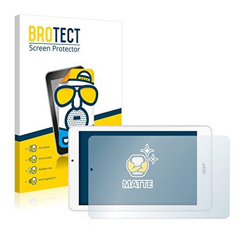BROTECT Entspiegelungs-Schutzfolie kompatibel mit Acer Iconia Tab 8 W1-810 (2 Stück) - Anti-Reflex, Matt