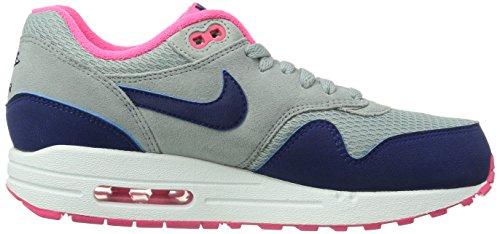 Nike Wmns Air Max 1 Essential 599820 Damen Low-Top Sneaker Mehrfarbig 36.0EU/ 22.5cm Grau (Grau)