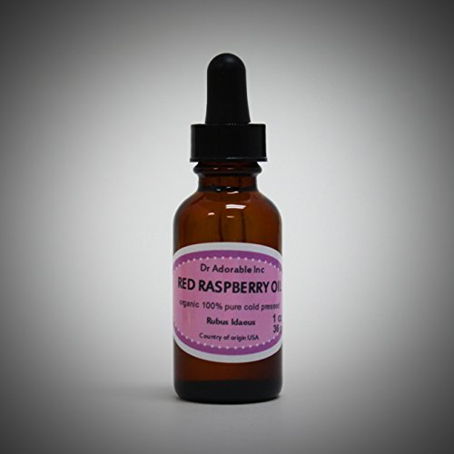 1 oz Red Raspberry Seed Oil Organic Cold Pressed 100{8cc56ad790e2c03a935ae173d6129e5ef7a1e39944e3a531a3fce7f6f52ab8b5} Pure by Dr.Adorable