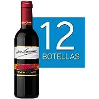 Lote de 12 Botellines Botellas Vino Don Luciano Tempranillo Cosecha 375ml - Vinos Baratos para Detalles