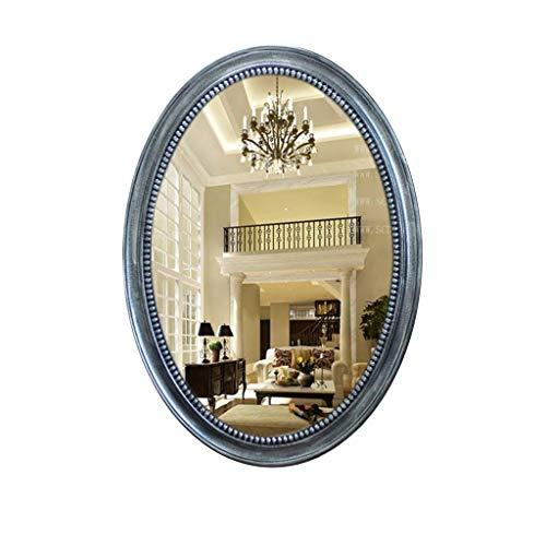 Gchom Espejo de Pared Decorativo Ovalado