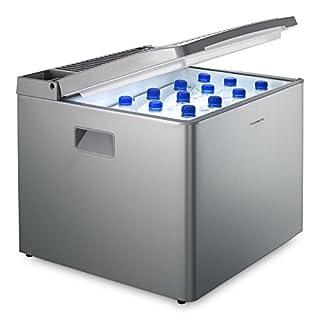 Dometic CombiCool RC 1200 EGP - lautlose, elektrische Absorber-Kühlbox mit Gas-Anschluss 30 mbar, 40 Liter, 12 V und 230 V für Auto, Lkw und Steckdose