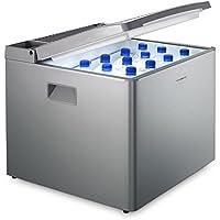 Dometic COMBICOOL RC 1200 EGP - lautlose Absorber-Kühlbox für Auto, Steckdose und Gas-Anschluss (50 mbar) I Mini-Kühlschrank für Camping und Schlaf-Zimmer I  40 Liter