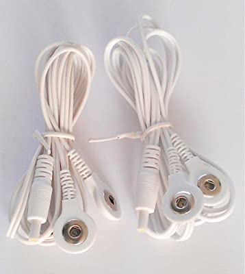 Snap/stud Tens Leads With Standard Female Plug Connection by Healthcare World