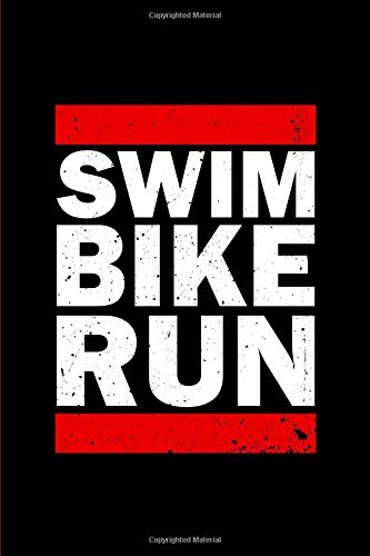 Triathlon Training Notebook: Swim Bike Run. A journal for Triathletes. Training Log Notebook. 6 x 9. 200 lined pages. por FHC BOOKS