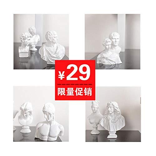 GOUDAIDAI Geschenk für den Lehrer Konsole Schrank Möbel weiche Dekorationen Modell Zimmer Zuhause Wohnzimmer Studie Zen Metall Fenster Vogel Ornamente,Zen Fenster Vogel [kurz] -