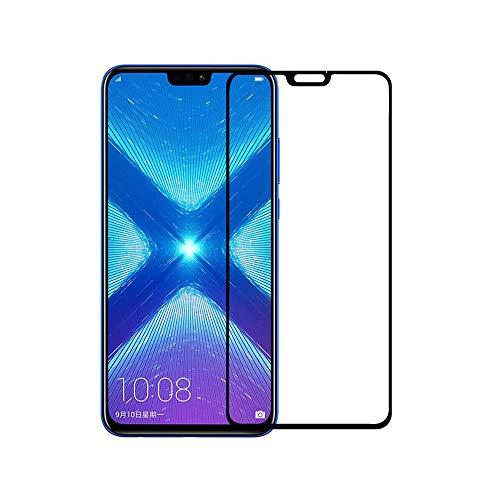 Huawei Honor 8X / Honor View 10 Lite Pellicola Protettive in Vetro Temperato, QULLOO 2.5D Full Coverage Proteggischermo Trasparente Ultra Resistente Anti-shock Vetro Temperato Screen Protector per Huawei Honor 8X-2PACK