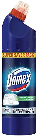 Domex Disinfectant Expert Liquid Toilet Cleaner, With Power Of Sodium Hypochlorite, Removes Tough Stains And P