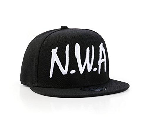 True Heads NWA Hiphop Snapback Baseball Cap (Compton Hat Eazy E)