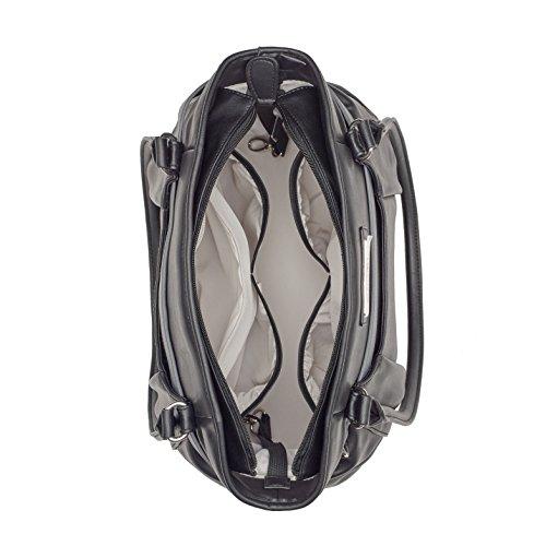 Babymoov A043570 Wickeltasche Glitter Bag, schwarz - 3