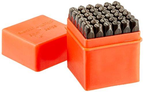 Neiko 02624Zahlen und Buchstaben Punch Set mit 1/10,2cm gehärtetem Stahl, 36Stück (Neiko Tools)