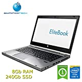 "Notebook HP Elitebook 8460p Core i5-2540M 2.6GHz 8Gb 240Gb SSD 14.1"" LED HD Windows 10 Professional con licenza nuova Simpaticotech MAR (Ricondizionato)"