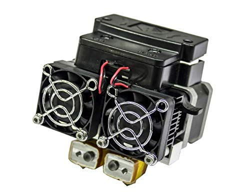 Extruder Assembly including Motor and Fans for Flashforge 3D Printer (For  Creator Pro)
