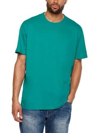 s.Oliver Big Size Herren T-Shirt 15.404.32.6859, Einfarbig,Gr. XXXX-Large, Grün (dark teal green)