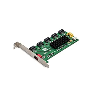 Syba 5 Port SATA II Internal Port Multiplier with PCI Bracket Mounting (SY-PCI40037)