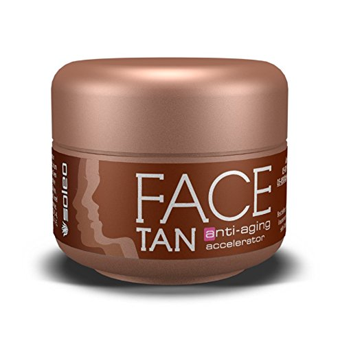 Soleo Special Line Face Tan Anti-Aging Accelerator, 2er Pack (2 x 15 ml)