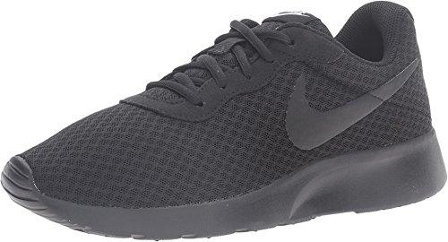 Nike Damen WMNS Tanjun Sneaker, Schwarz Black-White, 38 EU (Nike Frauen Schuhe Schwarz)